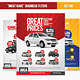 """Must Have"" Business Flyers - Set 05 Car Services - GraphicRiver Item for Sale"