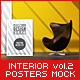 Interior Posters Mock-Up Vol.2 - GraphicRiver Item for Sale