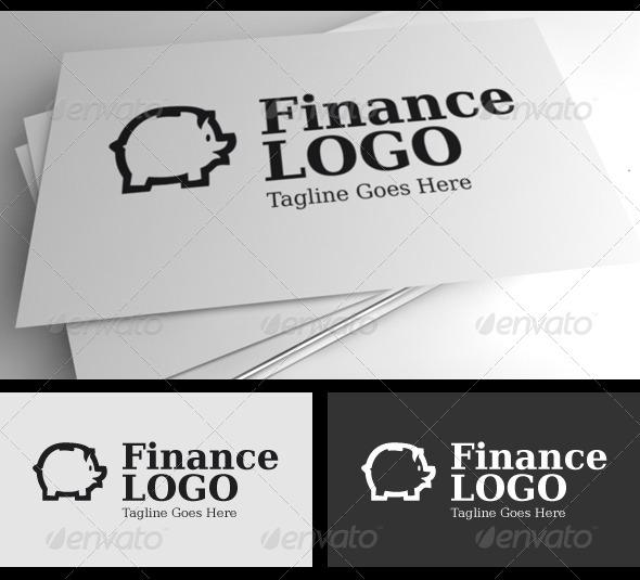 GraphicRiver Finance Logo Template 4351476