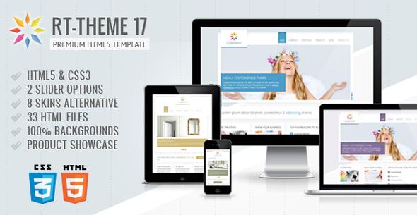 ThemeForest RT-Theme 17 Premium HTML5 Template 4434485
