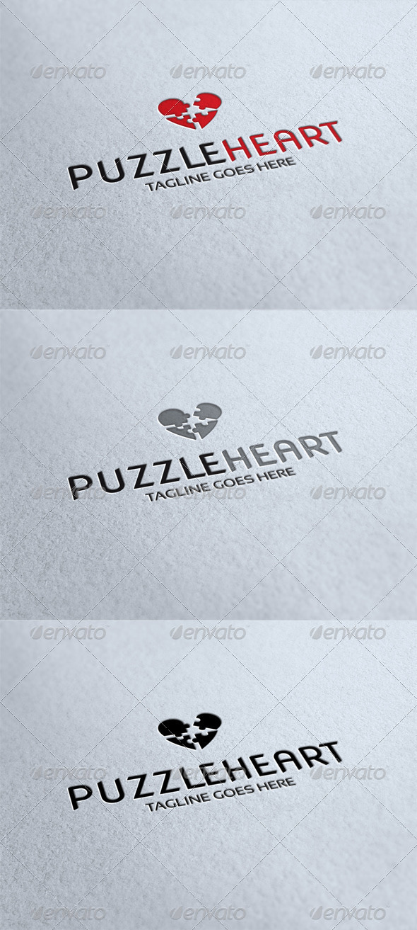 Puzzleheart Logo - Humans Logo Templates