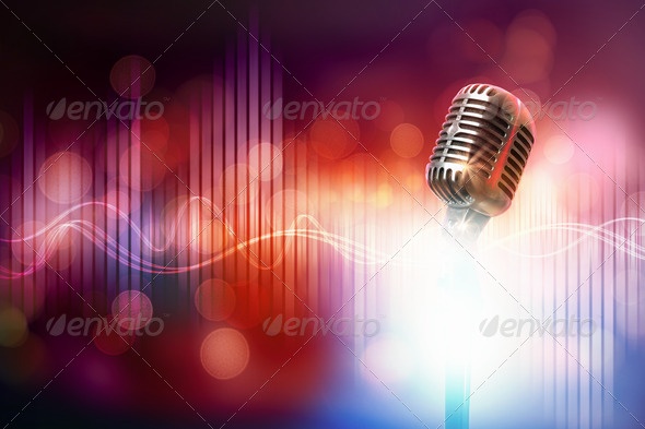 Let's sing! - Stock Photo - Images