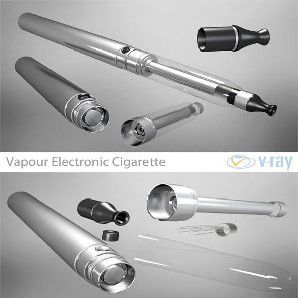 3DOcean Vapour Electronic Cigarette 4435724