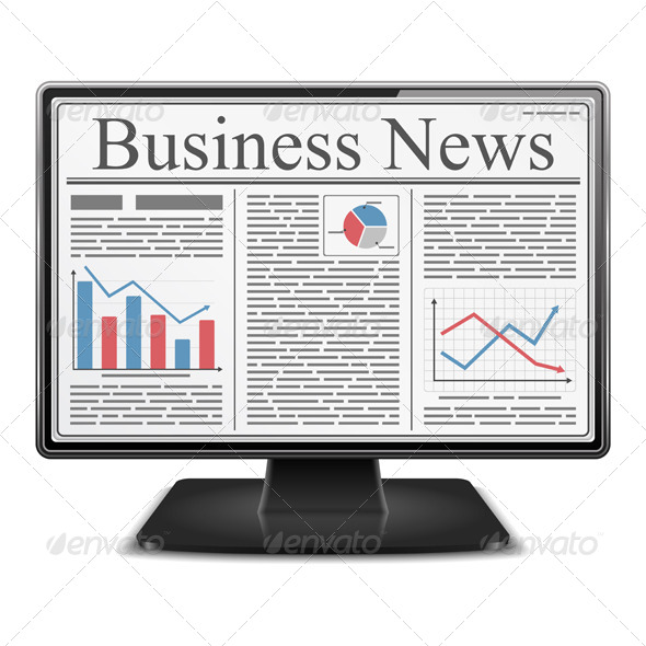 GraphicRiver Business News in Computer 4436407