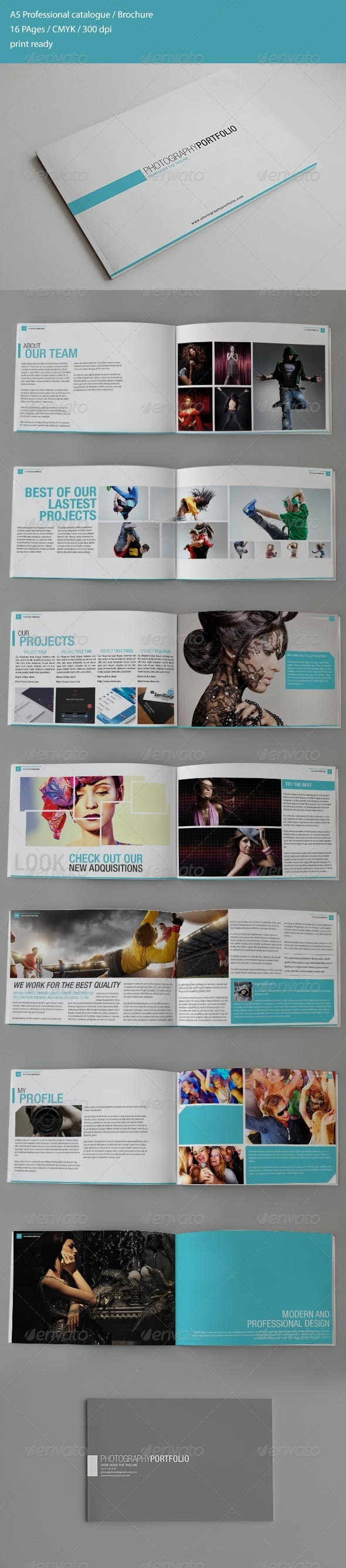 GraphicRiver Photography Catalogue Brochure 4436420