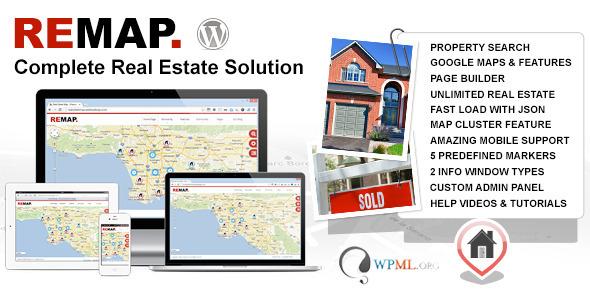 ThemeForest REMAP Real Estate Premium Wordpress Template 4434226