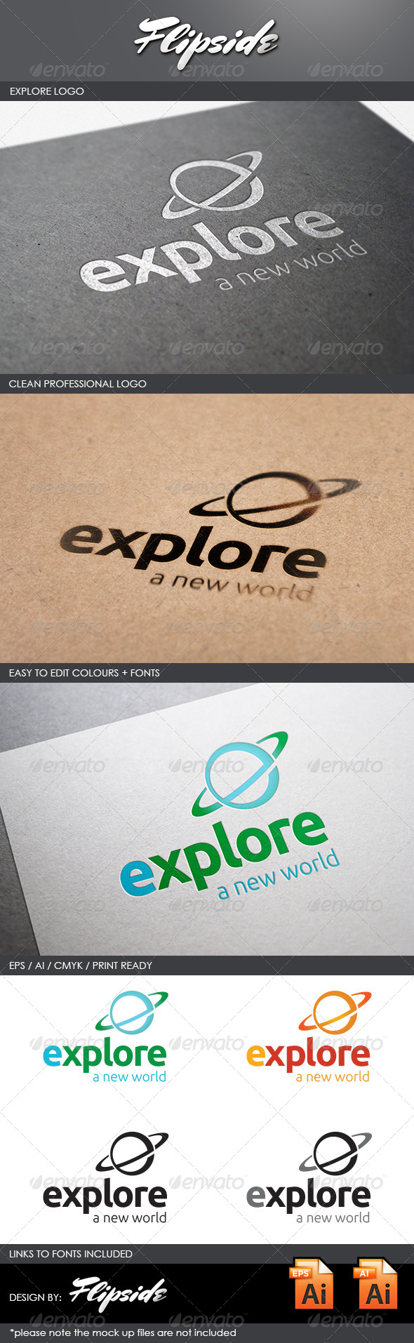 GraphicRiver Explore Travel Logo 4362811