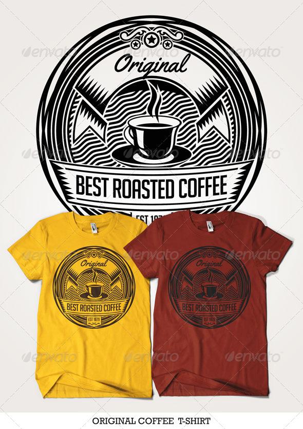GraphicRiver Original Coffee T-Shirt 4437260