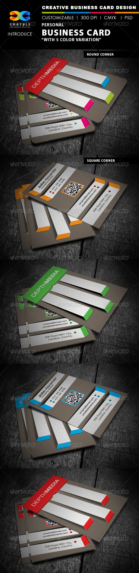GraphicRiver Personal Business Card 4342039