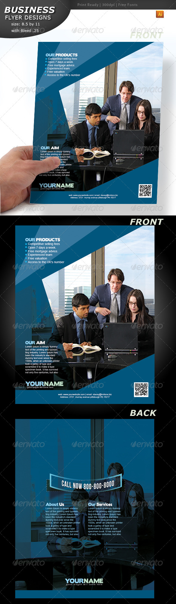 GraphicRiver Business Flyer 4437486