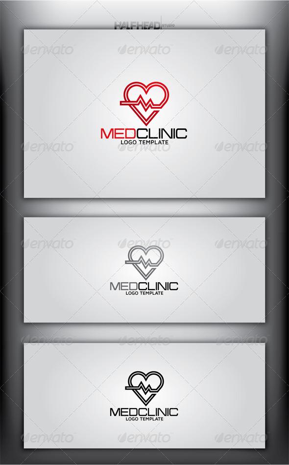 GraphicRiver MEDCLINIC Logo Template 4437575