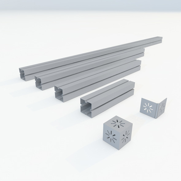 Syma 90 construction set - 3DOcean Item for Sale