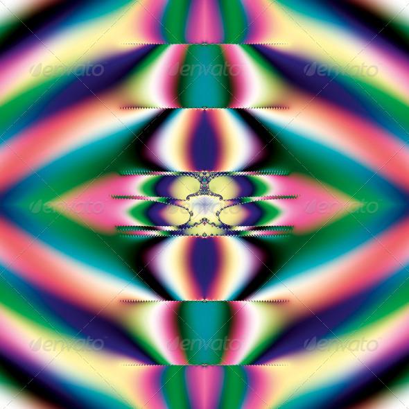 Rainbow Mirror - Stock Photo - Images