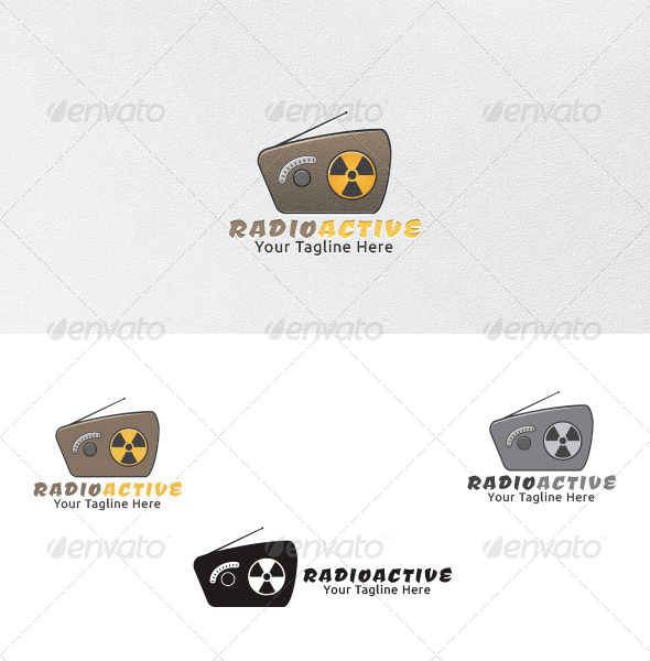 GraphicRiver Radioactive Logo Template 4438073