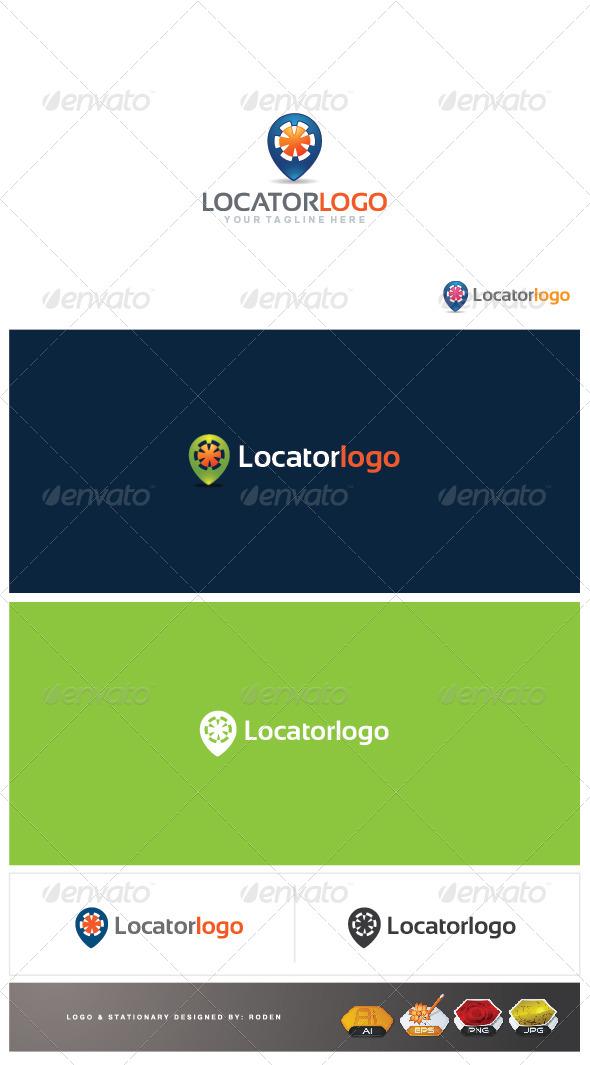 locator logo - Logo Templates