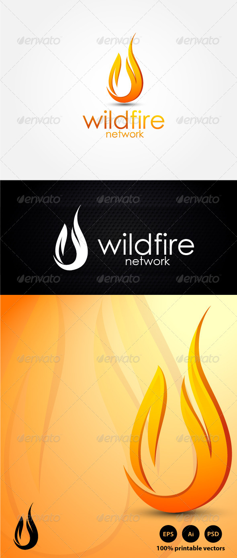 GraphicRiver Wildfire Energy Logo 4439105