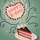 Happy B-Day Cake - GraphicRiver Item for Sale