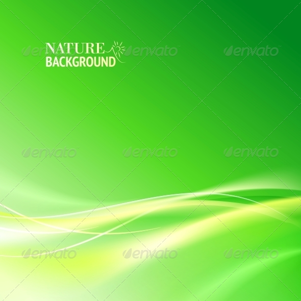 GraphicRiver Green Abstract Background 4441034