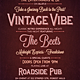 Vintage Vibe - Typography Flyer & Poster - GraphicRiver Item for Sale