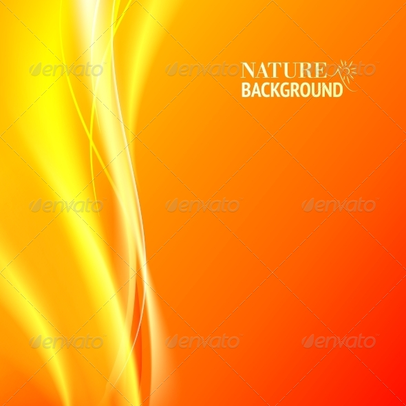 GraphicRiver Tender Orange Abstract Background 4441196