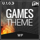 GamesTheme Premium WordPress Theme - ThemeForest Item for Sale
