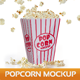 Popcorn Mockup - GraphicRiver Item for Sale
