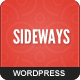 Sideways Portfolio Website WordPress Theme - ThemeForest Item for Sale