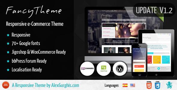 FancyTheme - e-Commerce WordPress Theme - ThemeForest Item for Sale