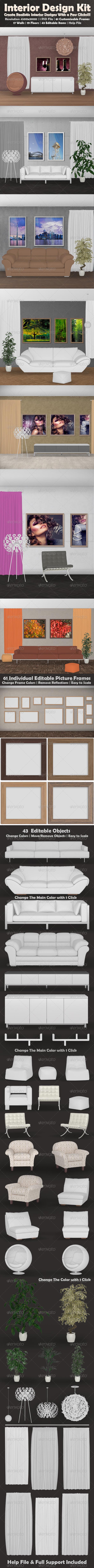 GraphicRiver Interior Kit 4442814