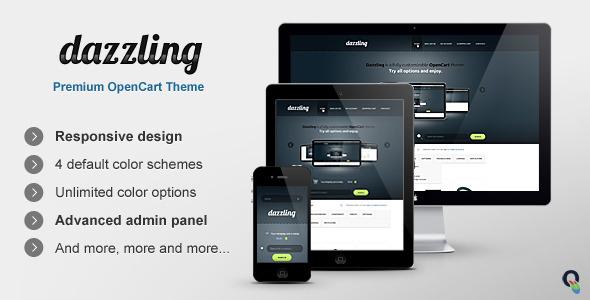 Dazzling OpenCart Premium Theme