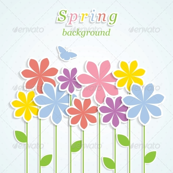 GraphicRiver Spring Background 4443373