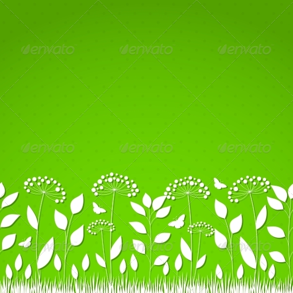 GraphicRiver Floral Background 4443399