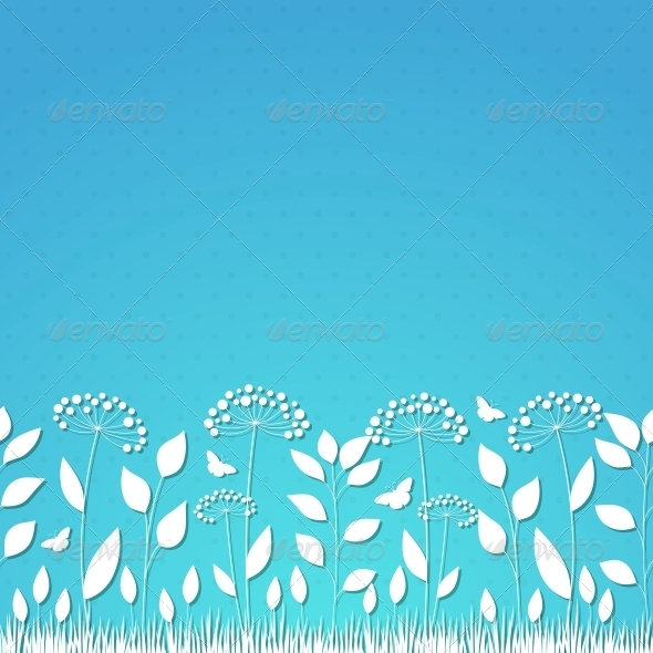 GraphicRiver Floral Background 4443403
