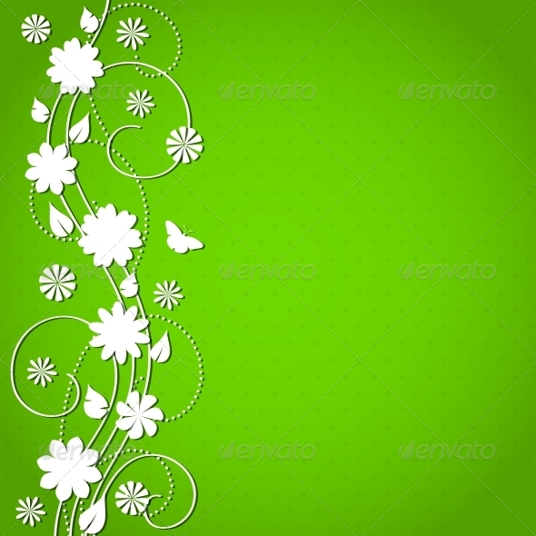 GraphicRiver Floral Background 4443404