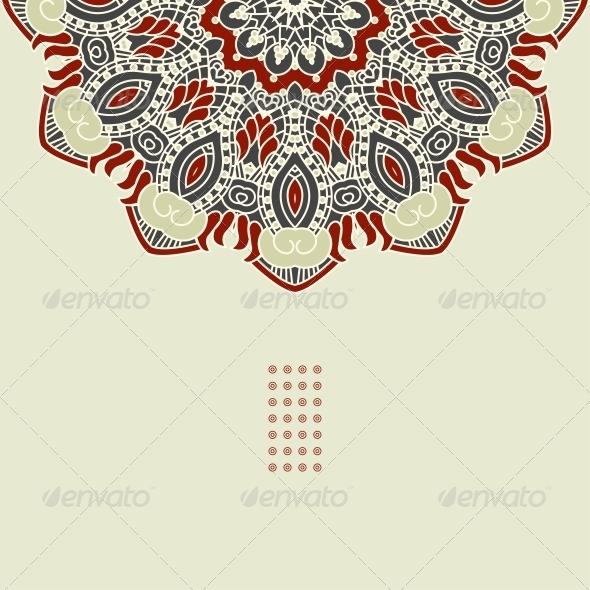 GraphicRiver Vector Round Decorative Design Element 4443453