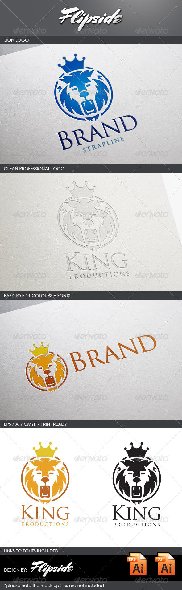 GraphicRiver Lion Logo 4443773