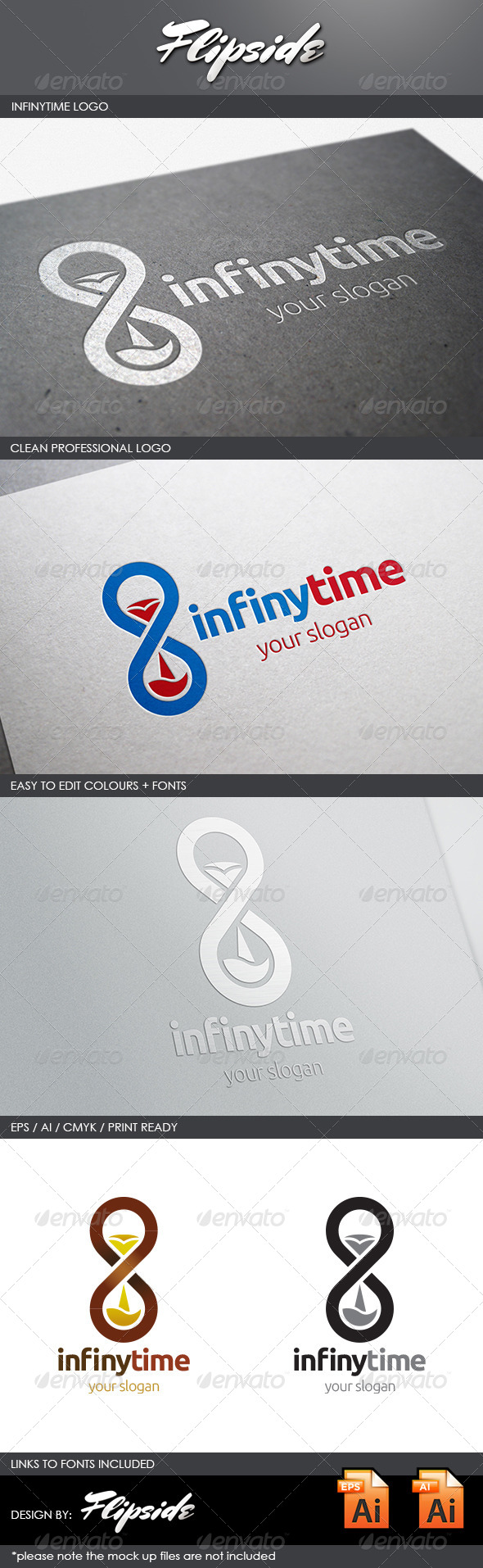 GraphicRiver Infinytime Logo 4366709