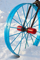 Metal detail in the form of a bicycle wheel - PhotoDune Item for Sale