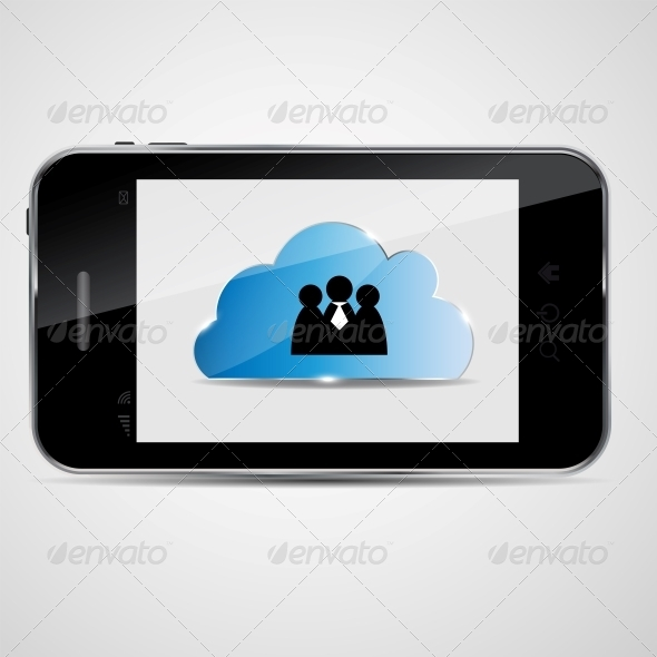 GraphicRiver Cloud Computing Vector Illustration 4444024