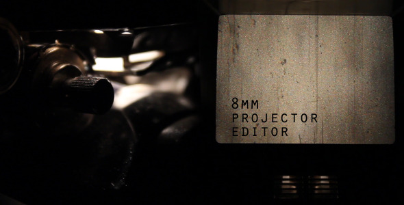8mm Projector Editor Pack