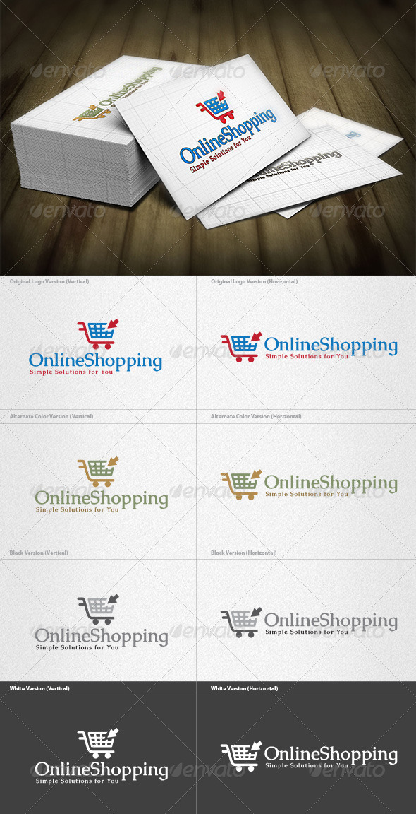 GraphicRiver Online Shopping Logo 4444785