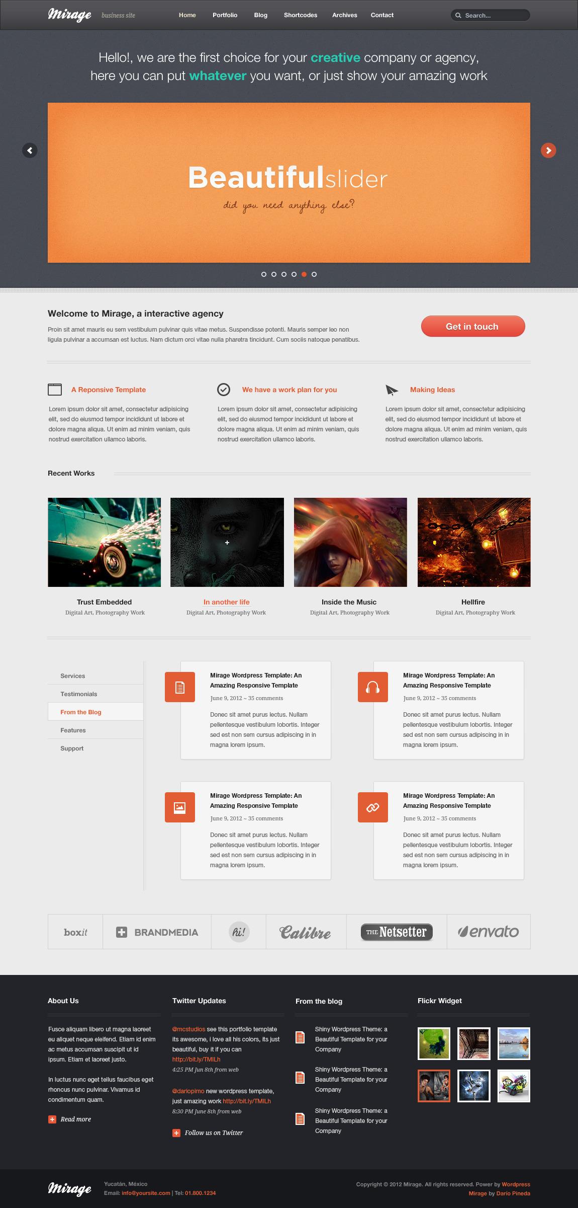 Mirage HTML Version