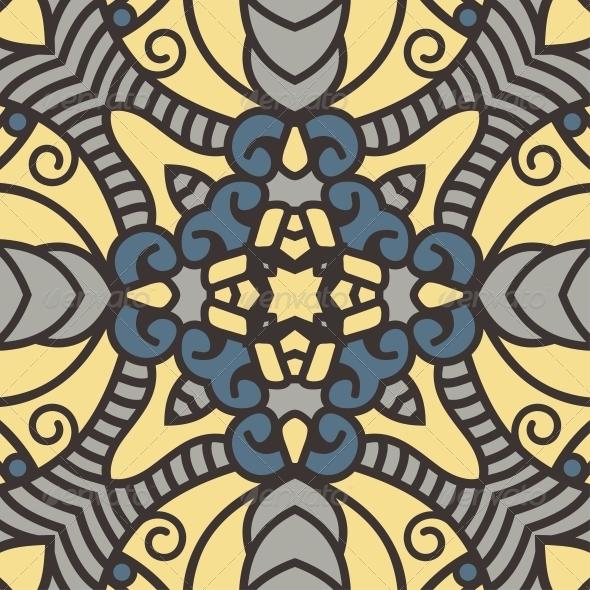 GraphicRiver Vector Square Decorative Design Element 4445215