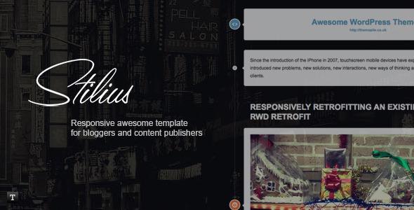 Stilus - Responsive HTML Template