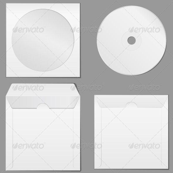 GraphicRiver CD Case 4445452