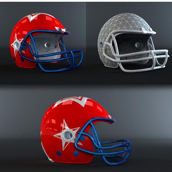 3DOcean American Football Helmet 4445497