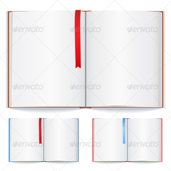 GraphicRiver Open Book 4445524