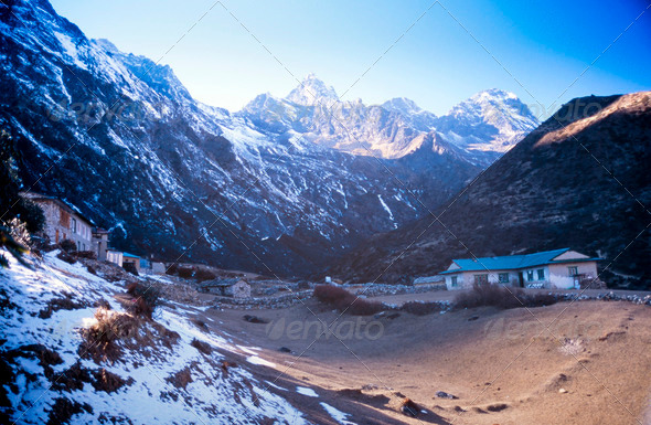 Himalayan Teahouse - Stock Photo - Images
