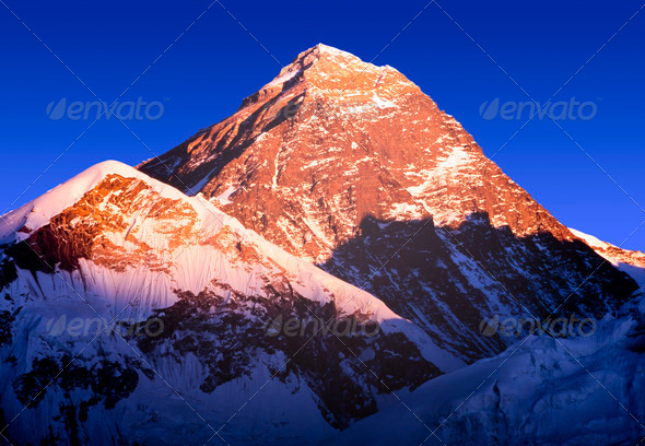 Mount Everest - Stock Photo - Images