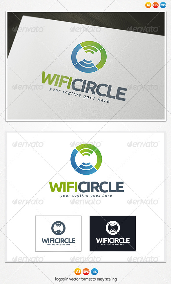 GraphicRiver Wifi Circle Logo 4372482